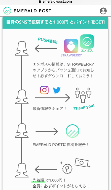 emerald-post